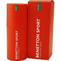 Benetton Sport Eau De Toilette Spray 3.3 oz for women by Benetton