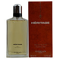 Heritage Eau De Toilette Spray 3.4 oz for men by Guerlain