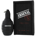 Arsenal Black Eau De Parfum Spray 3.4 oz for men by Gilles Cantuel