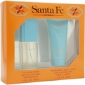 Santa Fe Cologne Spray 1 oz & Body Lotion 1.7 oz for women by Aladdin Fragrances