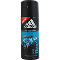 Adidas Ice Dive Deodorant Body Spray 4 oz (Developed With The Athletes) for men by Adidas