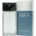 Herrera Aqua Eau De Toilette Spray 1.7 oz for men by Carolina Herrera