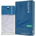 B United Eau De Toilette Spray 3.3 oz for men by Benetton