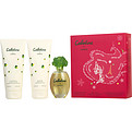 Cabotine Edt Spray 3.4 oz & Body Lotion 6.7 oz & Shower Gel 6.7 oz for women by Parfums Gres