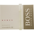 Boss Eau De Parfum Vial On Card for women by Hugo Boss