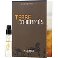 Terre d'Hermes Eau De Toilette Spray Vial On Card for men by Hermes