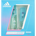 Adidas Moves Edt Spray 1 oz & Edt Spray .5 oz for women by Adidas