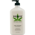 Hempz Herbal Moisturizer Body Lotion- Original 17 oz***Disco*** for unisex by Hempz