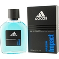 Adidas Fresh Impact Edt Spray 3.4 oz for men by Adidas