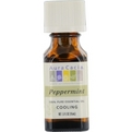 Essential Oils Aura Cacia Peppermint-Essential Oil .5 oz for unisex by Aura Cacia