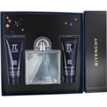Pi Neo Eau De Toilette Spray 3.3 oz & Aftershave Balm 2.5 oz & Hair And Body Shower Gel 2.5 oz for men by Givenchy