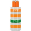 Benetton Energy Edt Spray 3.3 oz (Unboxed) for women by Benetton