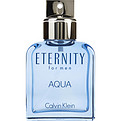 Eternity Aqua Edt Spray 3.4 oz (Unboxed) for men by Calvin Klein