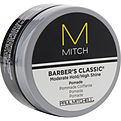 Paul Mitchell Men Mitch Barber's Classic Moderate Hold/High Shine Pomade 3 oz for men by Paul Mitchell
