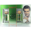 Mediterraneo Eau De Toilette Spray 3.4 oz & Aftershave 3.4 oz for men by Antonio Banderas
