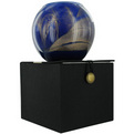 COBALT CANDLE GLOBE Candles poolt Cobalt Candle Globe
