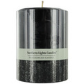 New Moon One 3x4 Inch Pillar Candle.  Burns Approx. 80 Hrs. for unisex by New Moon