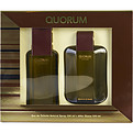Quorum Eau De Toilette Spray 3.4 oz & Aftershave 3.4 oz for men by Antonio Puig