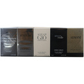 Giorgio Armani Variety 5 Piece Mens Variety With Armani Code & Armani & Acqua Di Gio & Attitude & Emporio Armani Diamonds And All Are Eau De Toilette Minis for men by Giorgio Armani