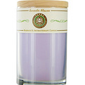 Lavender Blossom Massage & Aromatherapy Soy Candle 12 oz Tumbler. A Calming & Balancing Blend With Amethyst Gemstone. Burns Approx. 30+ Hours for unisex by Lavender Blossom