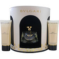 Bvlgari Mon Jasmin Noir Eau De Parfum Spray 2.5 oz & Body Lotion 3.4 oz & Shower Gel 3.4 oz for women by Bvlgari