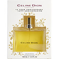Celine Dion Eau De Toilette Spray 3.4 oz (10th Anniversary Edition Packaging) for women by Celine Dion