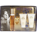 White Diamonds Edt Spray 1.7 oz & Body Lotion 1.7 oz & Body Wash 1.7 oz & Parfum .12 oz Mini for women by Elizabeth Taylor