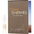 Terre d'Hermes Eau Tres Fraiche Eau De Toilette Spray Vial On Card for men by Hermes