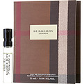Burberry London Eau De Toilette Spray (New) Vial On Card for men by Burberry