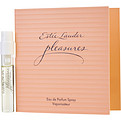 Pleasures Eau De Parfum Spray Vial On Card Mini for women by Estee Lauder