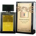 ANTONIO BANDERAS THE GOLDEN SECRET Cologne by Antonio Banderas