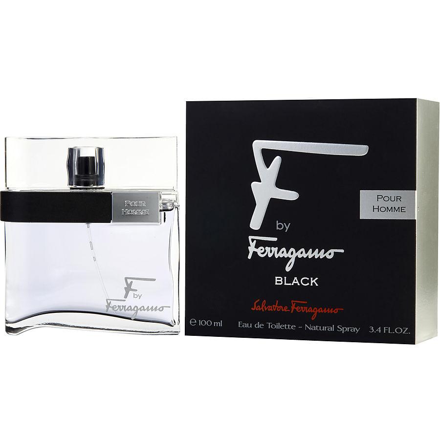 ... Ferragamo \/ F By Ferragamo Pour Homme Black \/ Eau De Toilette