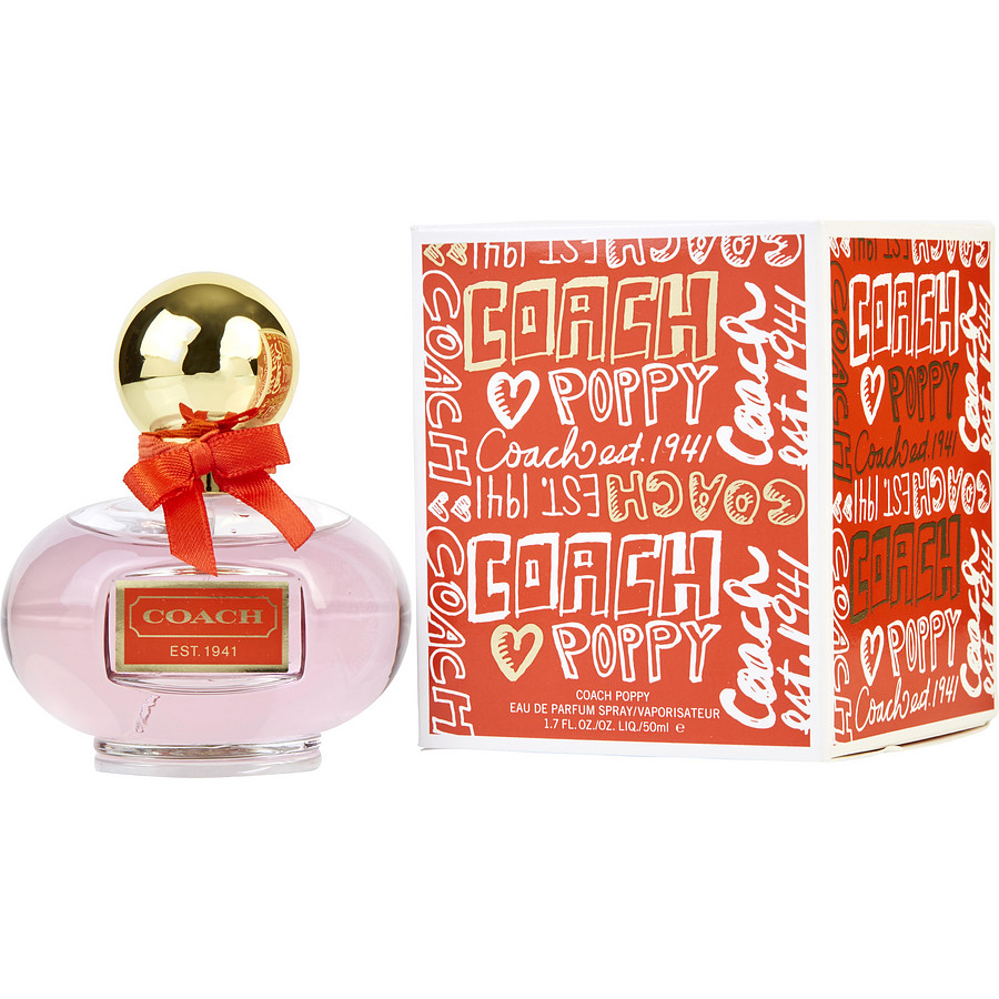 what does coach poppy perfume smell like