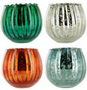 FLUTED MERCURY BOWL Candles par